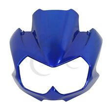 Blue Upper Front Fairing Cockpit Mask For Kawasaki Z750N 2004 2005 2006 New