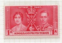 Somaliland Protectorate 1912 Early GV Issues Fine Mint Hinged 1a. 051115