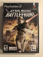 BRAND NEW SEALED PS2 -- Star Wars: Battlefront (Sony PlayStation 2) black label