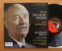 ASD 2311 Elgar The Music Makers Janet Baker Sir Adrian Boult NM/EX + insert