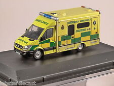 MERCEDES SPRINTER WELSH AMBULANCE 1/76 scale model OXFORD DIECAST