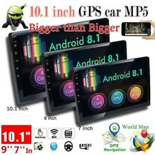 "10.1"" 2 Din Android 8.1 Car Radio GPS Navigation Wifi Bluetooth 12 LED Camera"