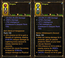 Diablo 3 RoS PS4 [HARDCORE] New 2.6 Modded Ring Bundle - 1,000,000,000% Damage