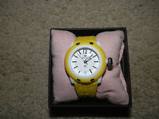 Womens watch Glam Rock watch Yellow watch New