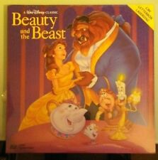 LD LASERDISC  disney BEAUTY AND THE BEAST   CAV LASERDISC LD NEW not a dvd