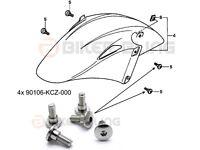 Honda VFR800 VTEC RC46 2002-2013 shouldered front mudguard bolts 90106-KCZ-000