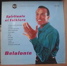 HARRY BELAFONTE SPIRITUALS ET FOLKLORE  FRENCH LP RCA 1963
