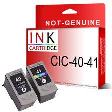 2 Cartucho De Tinta Para Canon Pg40 Cl41 Pixma Mp460 Mp470 Mx300 Mx310 MultiPass