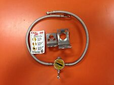 CROSSFIRE TIRE EQUALIZER SYSTEM 120 PSI STAINLESS STEEL HOSES Freightliner Volvo