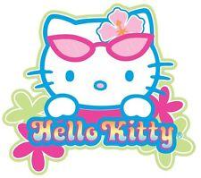 "(#16D) HELLO KITTY Head Shot sticker 4.25"" x 3.25"" decal"