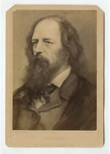 VICTORIAN POET LORD ALFRED TENNYSON, SOMERSBY, LINCOLNSHIRE, ENGLAND, CAB PHOTO