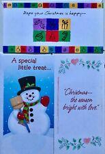 Lot of 3 Hallmark Money Gift Christmas Cards