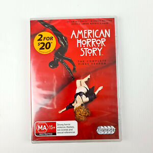 American Horror Story: The Complete First Season (Season 1) (4 Disc) DVD Sealed