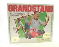 Commodore C64 Game -- GRANDSTAND THE ULTIMATE SPORTS COMPILATION -- BY DOMARK