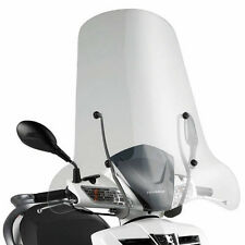 GIVI WINDSHIELD PANTALLA TRANSPARENTE 74x67cm SYM HD2 125-200 2011-2016 128A