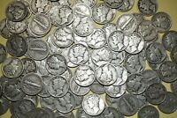 Lot of 15 MERCURY DIMES 90% Silver Coins Random Dates Shipping Discount #MDr3