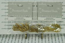 LARGE ORNAMENT HOOKS HALLMARK~20 HOOKS PER BAG~3 BAGS~NEW~FREE SHIP IN US