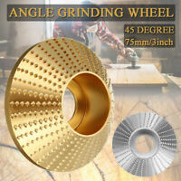 45° Carbide Wood Sanding Carving Shaping Disc For Angle Grinder Grinding Wheel