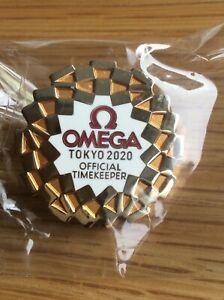 Rare Omega Tokyo 2020 logo olympic pin