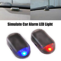 Fake Auto Car Solar Energy Security Anti-theft Warning Flash Alarm Light