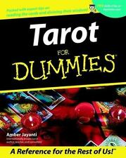 BRAND NEW Tarot For Dummies, No marks, FORTUNE TELLER, SEANCE, CARDS, BOOK