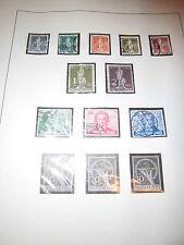 Sammlung, Berlin, gestempelt, 1948-1954 fast komplett, alles abgebildet (999)