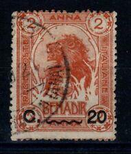 COLONIE SOMALIA 1916 ELEFANTI E LEONI 20C. su 2 a N. 23 US - N371