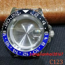 41mm Bliger SS Watch Case Fit ETA 2836DG2813/3804Miyota 8205/8215 Movement C123