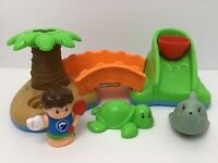 Little People Spill N Surprise Island Bath Time Paradise Toy Fisher Price