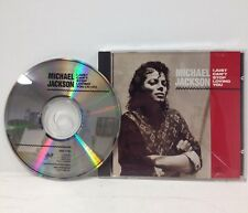 "Michael Jackson ADVANCE PROMO CD ""I Just Can't Stop Loving You"" 1987 "" ESK 2750"