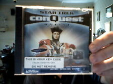 STAR TREK CONQUEST ONLINE  PC CD IDEAL CHRISTMAS  GIFT! FREE UK POST