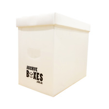 Comic Book Slab Boxes - Separate Lid - Acid Free & Fully Recyclable