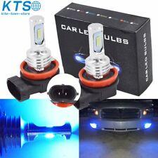 H11 H8 H9 H16 Led Fog Light Conversion Kit Plug And Play 8000K Ice Blue 35W