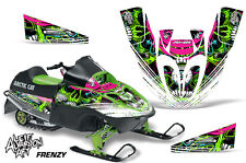 AMR Racing Arctic Cat Sno Pro 120 Sled Wrap Snowmobile Graphics Kit All FRENZY G