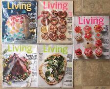 Lot Of 5 Martha Stewart Living Magazine Oct Nov '15 Feb Apr May '16 Thanksgiving