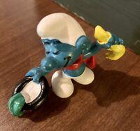 1980 Vintage Magician Smurf (20114)