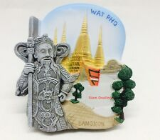 The Giant Monster Wat Pho, Bangkok, Thailand 3d High Quality Resin Fridge Magnet