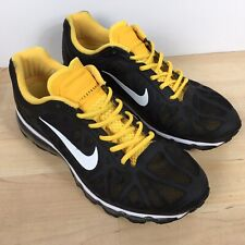 online store d0318 8545a Limited Rare Nike Air Max 2011 Live Strong Yellow Sneaker Shoe Sz 9.5