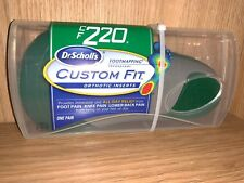 Dr. Scholl's CF220 Custom Fit Orthotic Inserts Dr.Scholl's Dr Scholls CF 220