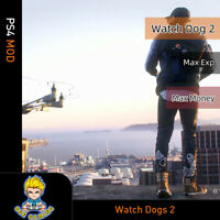 Watch Dogs 2 (PS4 Mod)-Max Exp/Money