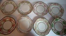 New listing Set Of 8 Different Antique Porcelain Bavarian Cake Plates