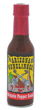Arizona Gunslinger Red Jalapeno Pepper Sauce