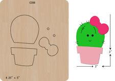 New cactus Wooden Die Cutting Dies  DIY Scrapbooking C-266