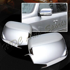 For 2009-2015 Honda Pilot Chrome ABS Plastic Side Mirror Cover W/Turn Signal Cut