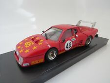 FERRARI 512 BBLM LE MANS 1981 RED #46 BRUMM R210 MODIFIED 1/43 MIB UNIQUE