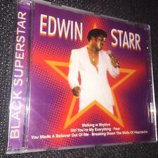 Edwin Starr Black Superstar NEW CD STILL SEALED  Marvin Gaye James Brown
