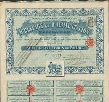 DECO = Cie Coloniale Française d'ELEVAGE & ALIMENTATION de MADAGASCAR (G)
