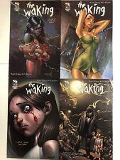 The Waking #1 2 3 4 Comic Book Set Zenescope 2010