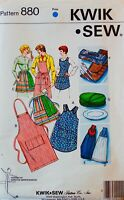 U PICK!  APRON Sewing Pattern ~ Kwik Sew