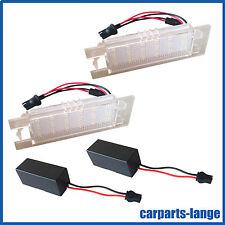 LED SMD SET ALFA OPEL FIAT Kennzeichenbeleuchtung Kennzeichen Leuchte *TÜV-FREI*